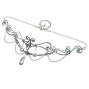 Elf Runes Bridal Circlet Silver Starlight