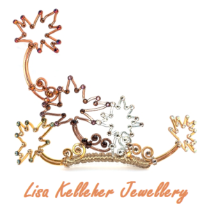 Handmade Autumn Metal Colours Maple Leaf Fairy Tiara