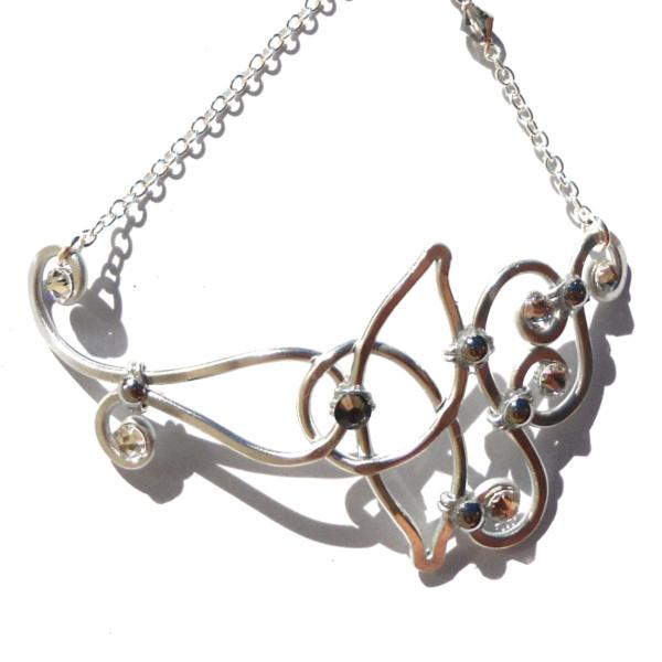 celtic-knot-anklet-silver-close-up