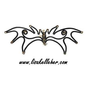 Dragon Wing Bow Tie Midnight Main