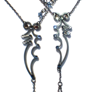 Dragon Wings Footless Sandals Charcoal Steel