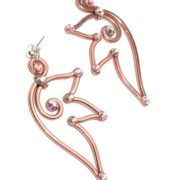 fairy-wing-earrings-rose-gold-left