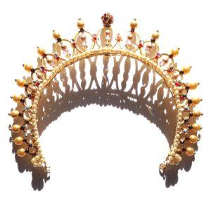 Princess Tiara Golden Pearl