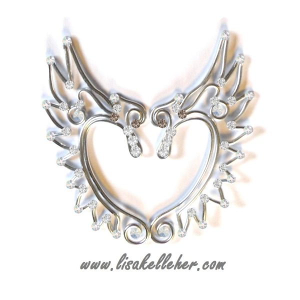 Angel Elf Ears Silver Moonlight