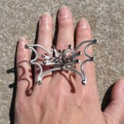 dragon-wings-ring-silver-smoke-display