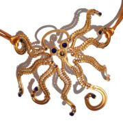 octopus-masquerade-mask-eye-patch-gold-royal-blues-detail