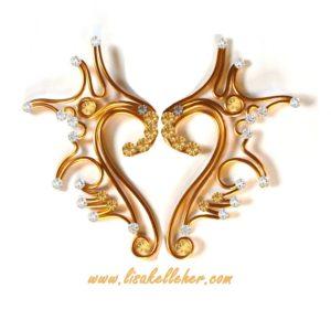 Uniccorn Elf Ears Gold Sunlight