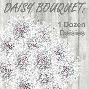 Immortal Daisy Flower Bouquet
