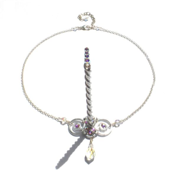 Unicorn Circlet Silver Moonlight