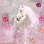 Unicorn Glitter Swarovski Mood Board