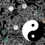 Yin and Yang Swarovski Mood Board