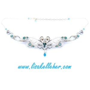 Butterfly Circlet Silver