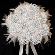 fossilized-carnation-immortal-bouquet-with-feathers