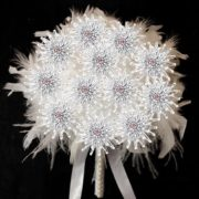 fossilized-daisy-immortal-bouquet-with-feathers